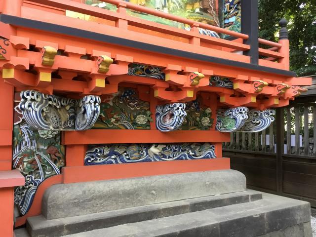 東京都日吉神社の芸術