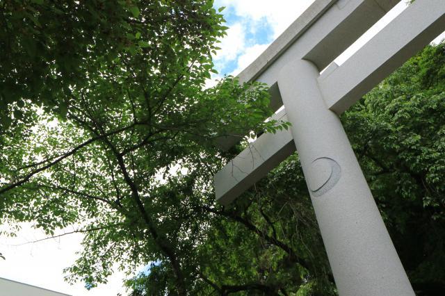 宮城県青葉神社の鳥居
