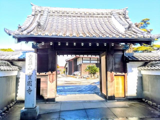 愛知県靈照山 宝国寺の本殿