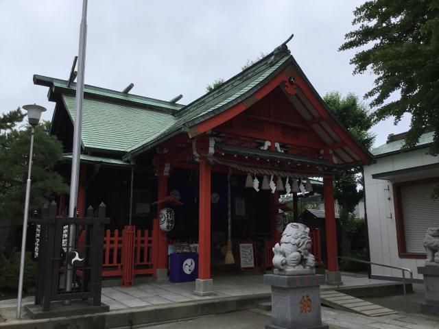 東京都葛飾氷川神社の本殿