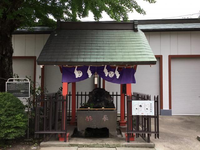 葛飾氷川神社(東京都堀切菖蒲園駅) - 手水舎の写真