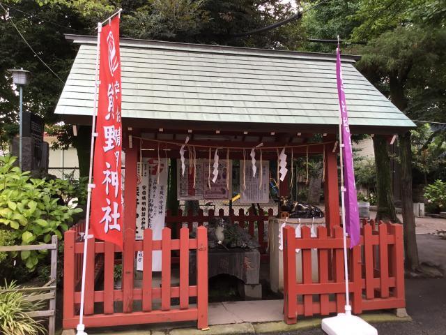 立石熊野神社(東京都青砥駅) - 手水舎の写真