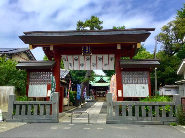 立石熊野神社(東京都青砥駅) - 山門・神門の写真