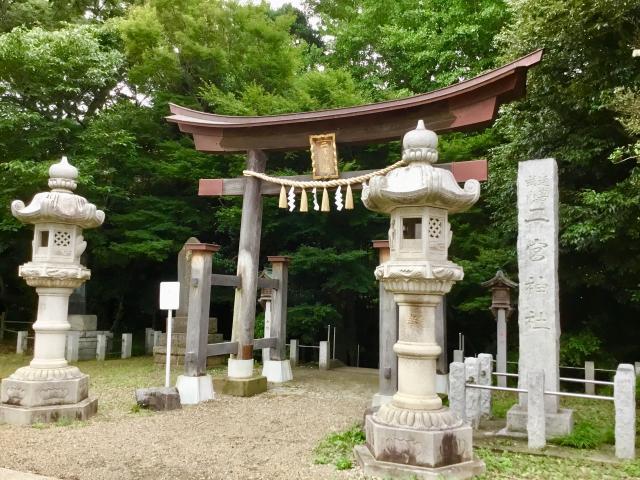 千葉県二宮神社の鳥居