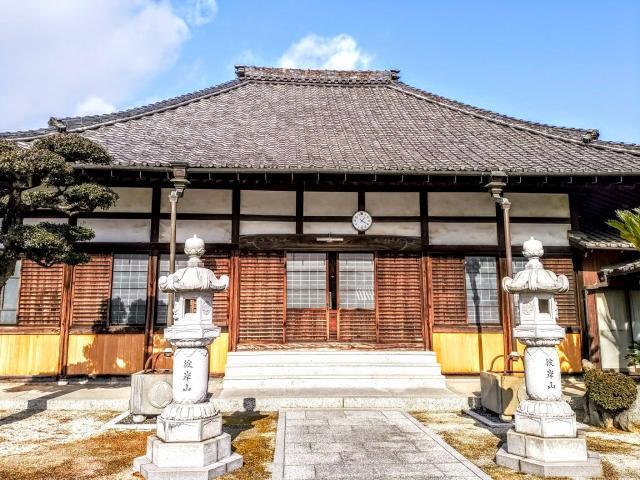 愛知県彼岸山 極楽寺の本殿