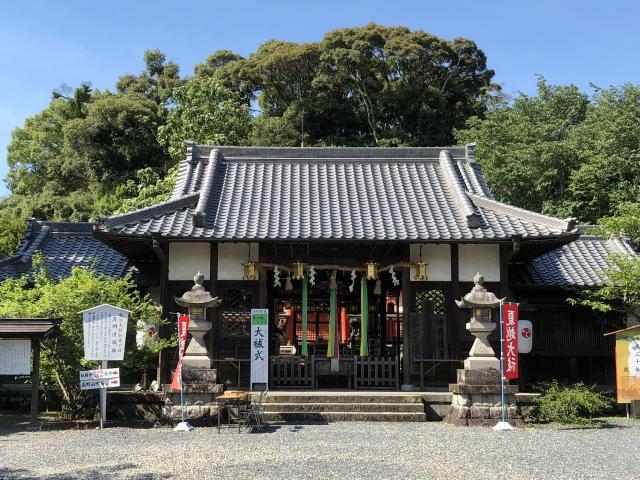 和歌山県丹生官省符神社の本殿