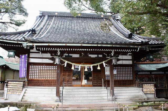石川県安江八幡宮の本殿