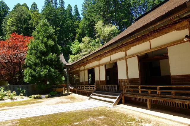 和歌山県金剛三昧院の本殿