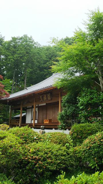群馬県崇禅寺の本殿