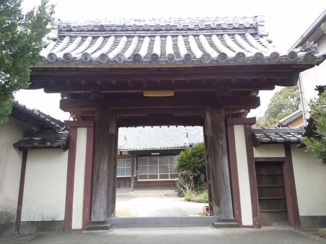 愛知県徳應山 福住寺の山門
