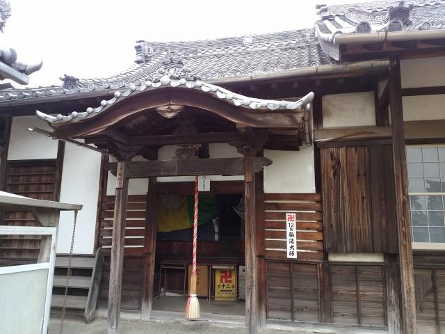 徳應山 福住寺の本殿