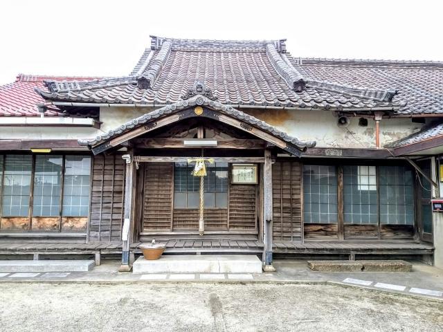 大田山 毘沙門寺の本殿