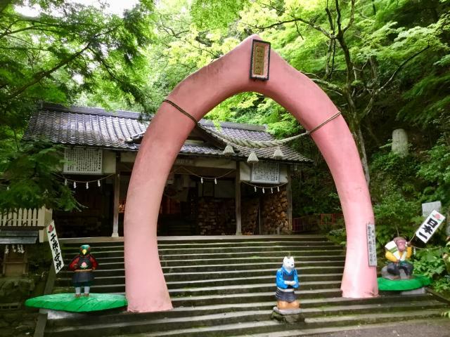 愛知県桃太郎神社の鳥居