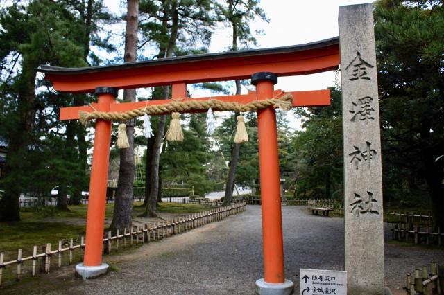 石川県金澤神社の本殿