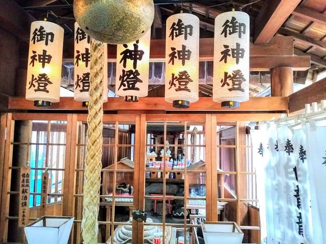 愛知県洲崎神社の本殿