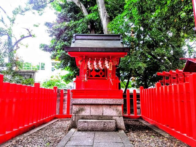 愛知県八幡社(闇之森八幡社)の本殿