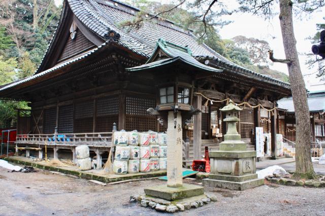 石川県石浦神社の本殿