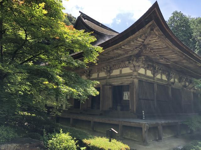 滋賀県金剛輪寺の本殿