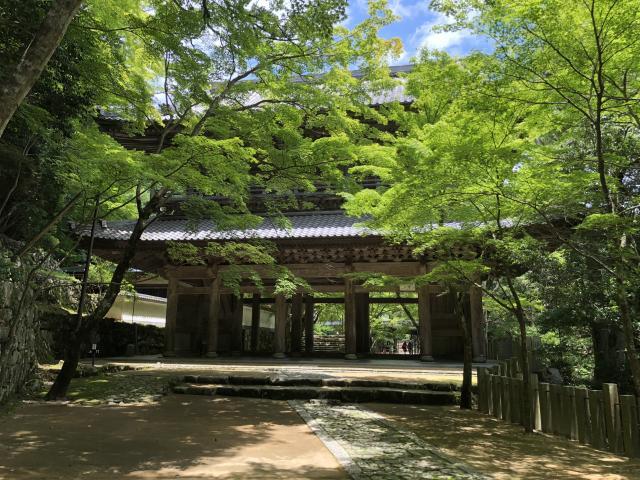 滋賀県永源寺の山門