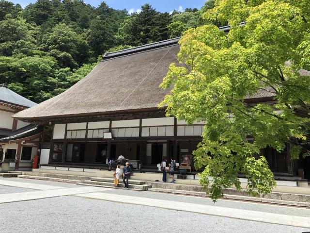 滋賀県永源寺の本殿