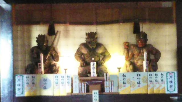 滿福寺の像