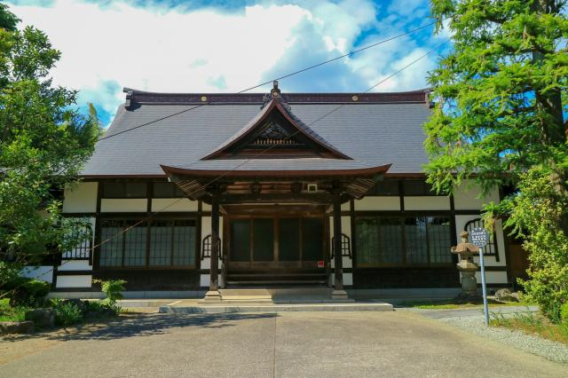 東昌寺の本殿