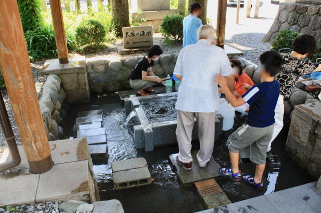 大垣八幡神社の周辺