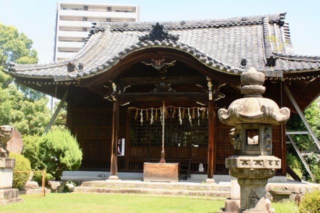 常葉神社の本殿