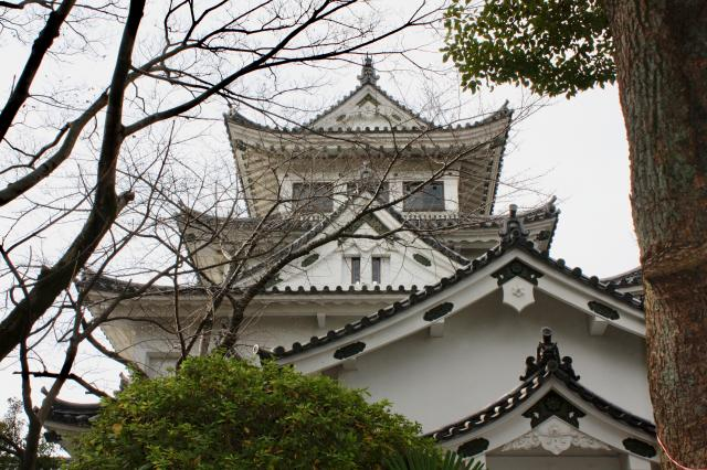 濃飛護国神社の周辺