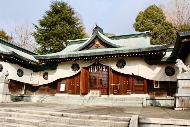 濃飛護国神社の本殿