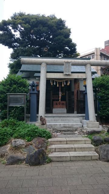 東京都池袋水天宮の鳥居