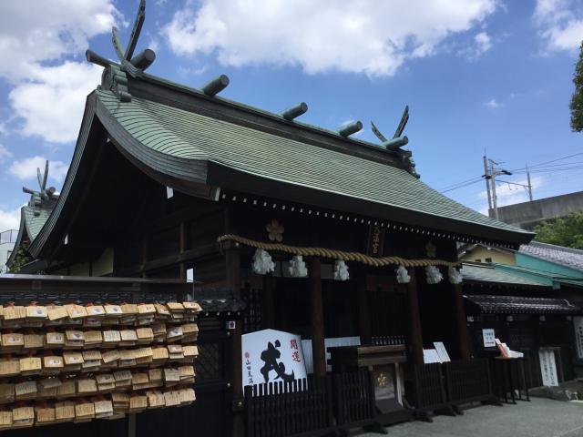 愛知県山田天満宮の本殿