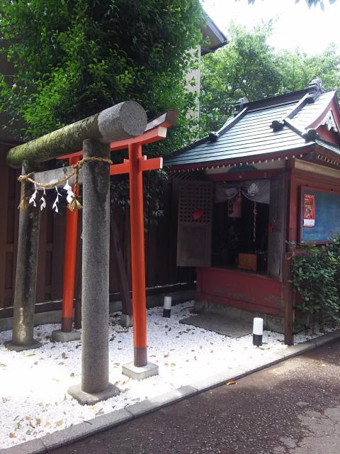 埼玉県本宗稲荷神社の鳥居