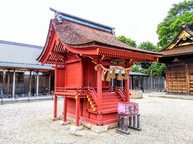 伊賀八幡宮(愛知県北岡崎駅) - 本殿・本堂の写真