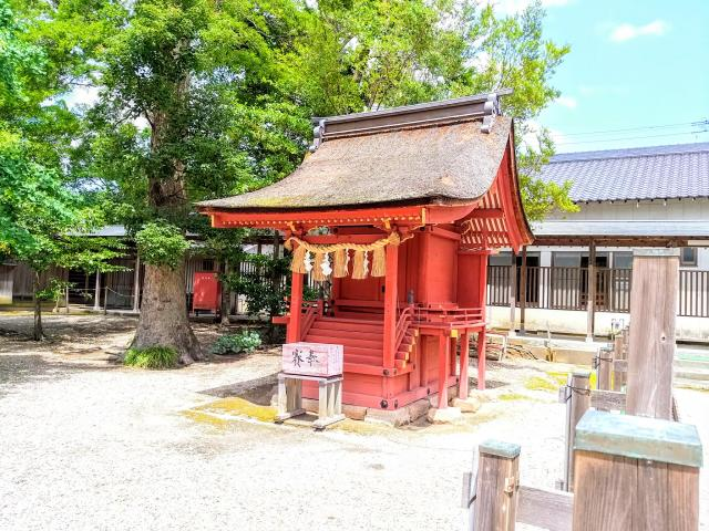 愛知県伊賀八幡宮の本殿