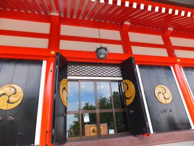 北海道住吉神社の本殿