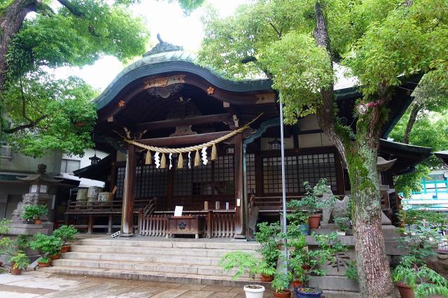 福島天満宮の本殿