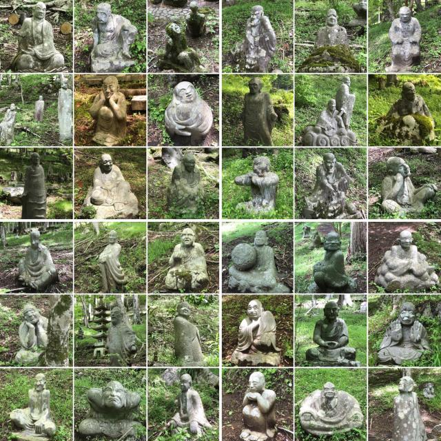 長安寺の仏像