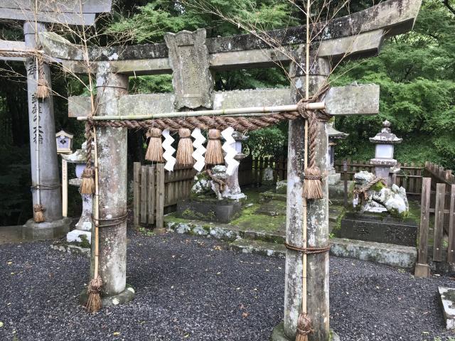 佐賀県武雄神社の本殿