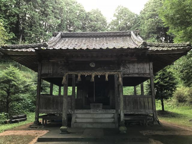 黒尾神社の本殿