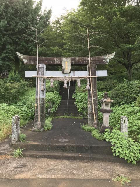 黒尾神社の鳥居