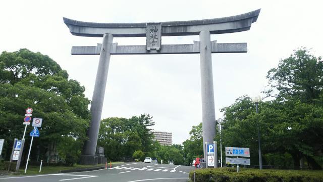 宮崎県神柱宮の本殿