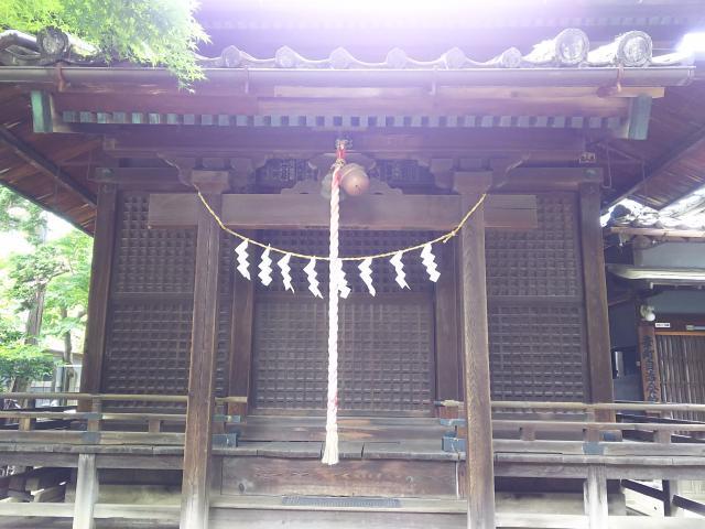 埼玉県雪塚稲荷神社の本殿