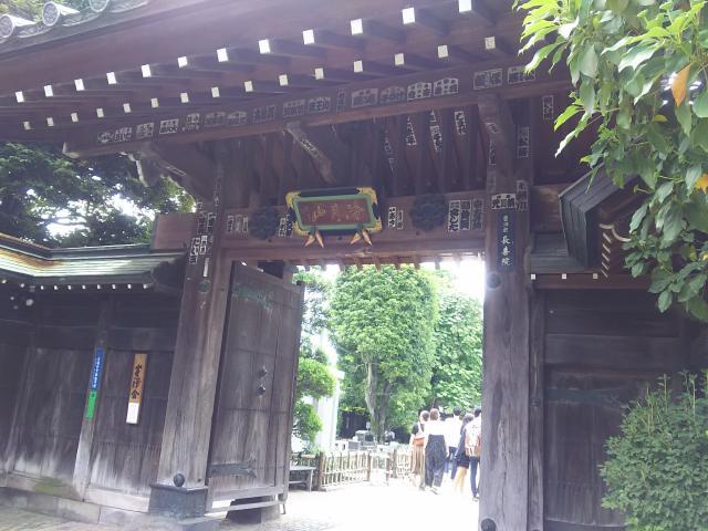 埼玉県長喜院の山門