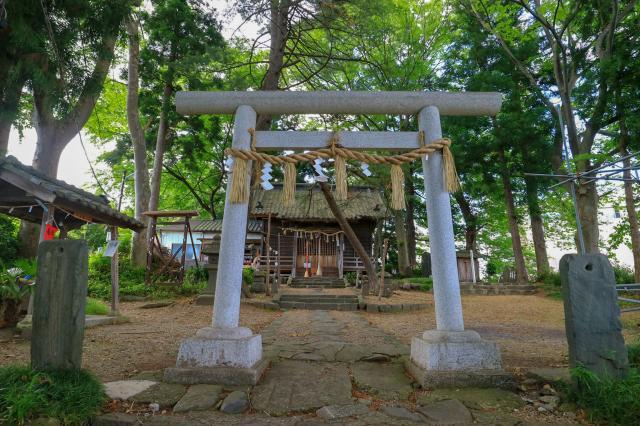 宮城県鹿島神社の鳥居