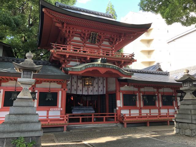 愛知県春日神社の本殿