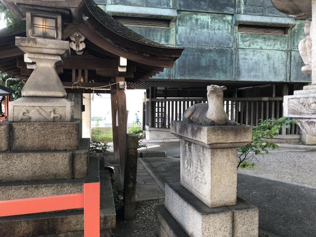 愛知県春日神社の狛犬