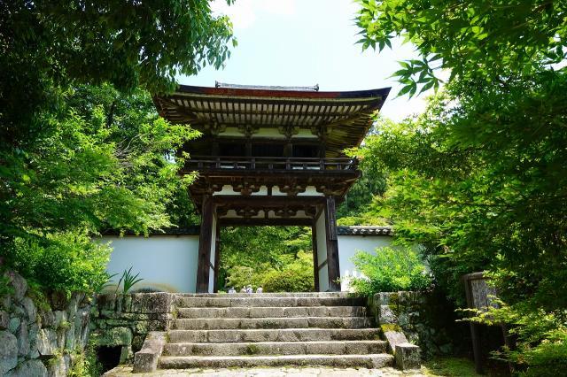 奈良県長岳寺の山門