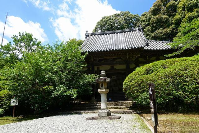 奈良県長岳寺の本殿