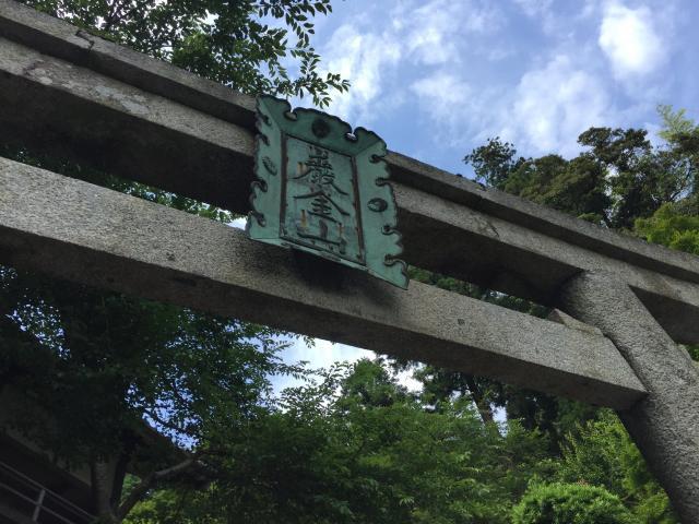 滋賀県宝厳寺の本殿